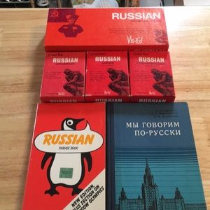Russian Vocabulary Cards & Language Learning Aids